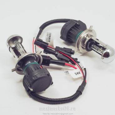 lampa-biksenonovaya-24v-para-clearlight-belaya-upakovka-h4-4300k-kontroller-24v-zhgut-bez-bloka