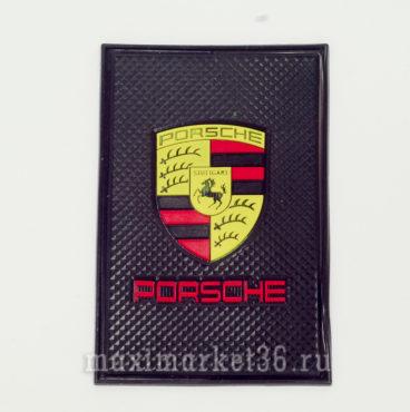 kovrik-antiskatnyi-silikonovyi-15smh10sm-s-logotipom-porshe