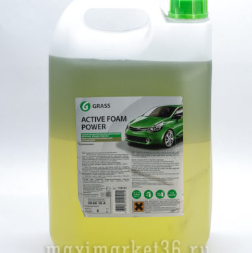 GRASS химия 6кг концентрат для ухода за автомобилем Active Foam Power