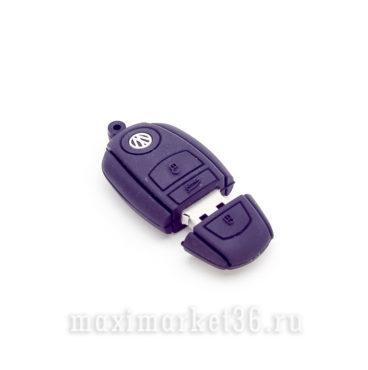 USB Флеш накопитель 16GB USB --БРЕЛОК VOLKSWAGEN силиконовыи?