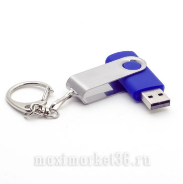USB Флеш накопитель 16GB USB DT101G2 синии? с карабином