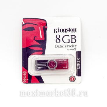 USB Флеш накопитель 8GB USB DT101G2 че?рныи? KING