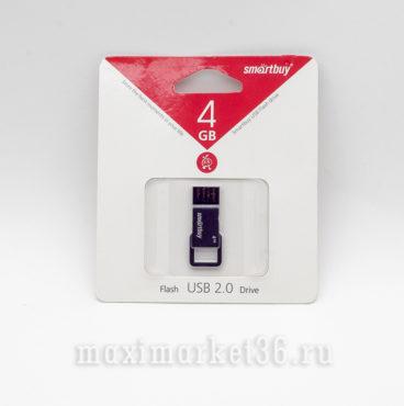 USB Флеш накопитель SmartBuy 4гб USB 2