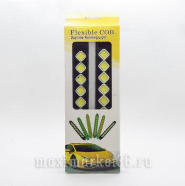 Фары диодные-ходовые огни KS-179 FLC COB 3W 6 диодов Гибкии?_
