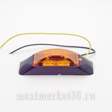 Фонарь габаритн119990 диодныи? (LED) же?лтыи? DA-00771