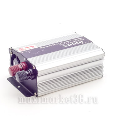 Преобразователь напряжения, инвертор12V_220V KS -A12-500W от прикуривателя+напрямую от АКБ,USB разъе?м
