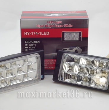 Противотуманные фары 174-1 LED белые 2110-Edit