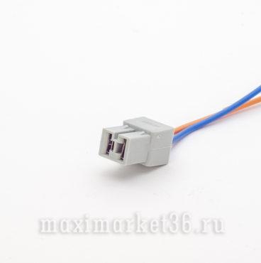 Разъе?м проводки 2- и? с проводами (на клемму 6,3) МАМА