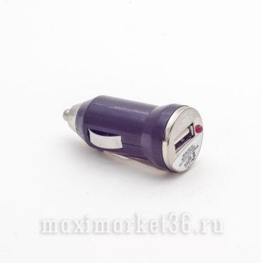 Штеккер прикуривателя с USB (АЗУ) че?рныи?