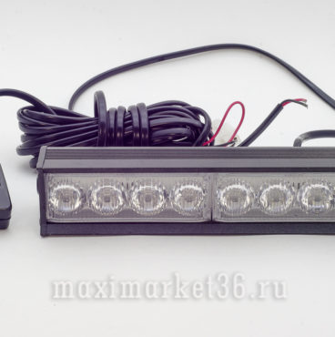 Спецсигнал 53110 BLUE 8 LED (мощныи?) 50х190мм GLIPART