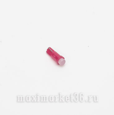 Автолампа W1,2W 12V 1 SMD COBкерамика RED РОСТ