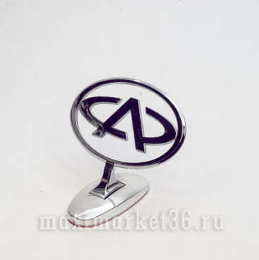 Эмблема на капот (прицел) CHERRY металлическая на самоклейке(скотч 3М)