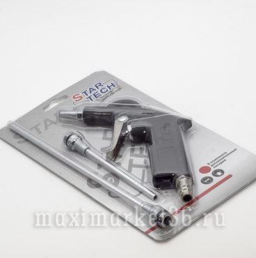 Пистолет продувочный DG-10BK-2 с 2-мя насадками