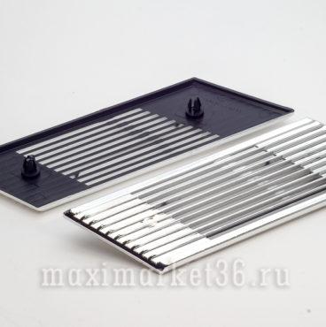 Решетка вентиляц боковая2103 хром (пара) 5701040