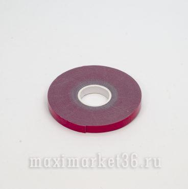 Скотч 2-сторонний красный 8мм 3М 5метров
