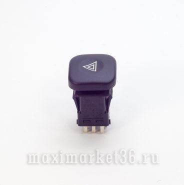 Выключатель аварийной сигнализации (кнопка) ВАЗ 2110-12 европанель_