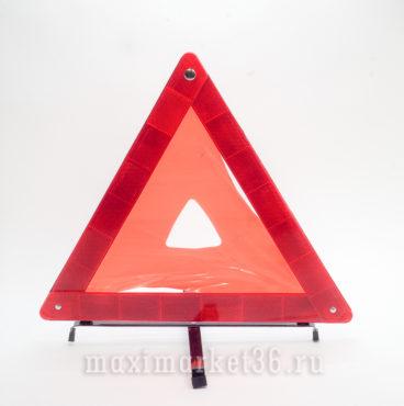 Знак аварийной остановки в металлическом корпусе с отражателем средний MAAS
