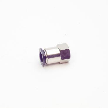 Фитинг прямой трубки ПВХ (внутренняя резьба) М16*1,5 D-12