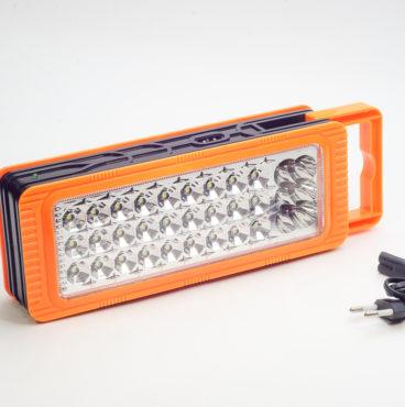 Фонарь-подсветка диодная 090 6816 PV оранжевый 33 SMD 7506