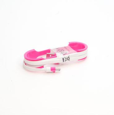 Кабель (с USB на micro USB) 008 NEO 02коричн1798 , 010 NEO 02розовый 2474,012 NEO 02 фиолет 1781