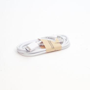 Кабель (с USB на micro USB) 013 белый BASIK 6837