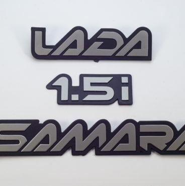 Орнамент на 2115 (3 таблички) LADA SAMARA 1