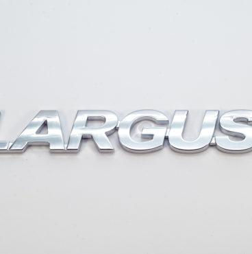Орнамент задка LARGUS хром самоклейка