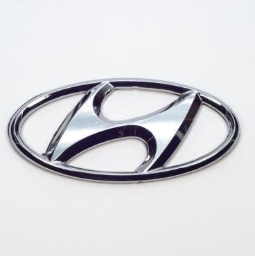 Заводской знак - HYUNADAI 108x55 Китай
