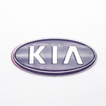 Заводской знак - KIA с ножками 115x57 Китай