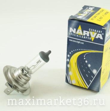 Автолампа H7 (24-70) PX26d 12V NARVA 10100 HIT 48728