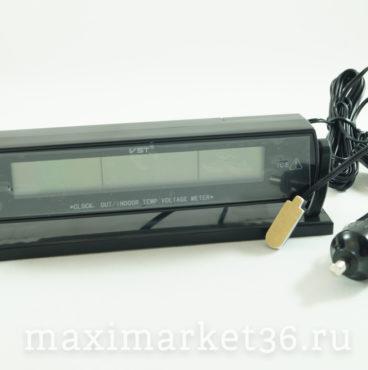 Часы VST-7013Vавтомобильные+термотетр+вольтметр+темп. за бортом