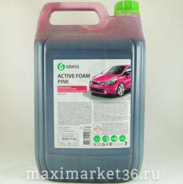 GRASS бесконт. химия 6кг концентрат для ухода за автомобилем Active Foam Pink 113121