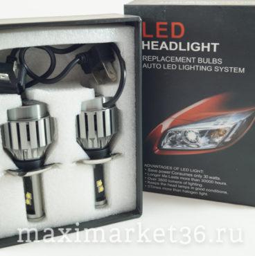 Лампа LED Headlight диодная H4 3800 LM(12-24V) ПАРА в коробке КРУТЫЕ VIT