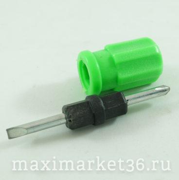 Отвёртки-перевёртыши D= 6 мм короткая (толстушка)