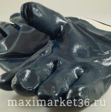 Перчатки обливные бензо-,масло-,водостойкие (синие) КРАГИ 112 СН