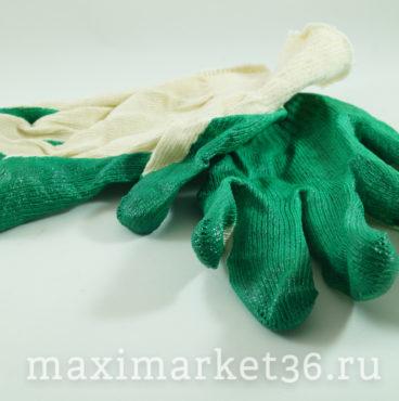 Перчатки с 1-им латексным обливом ХБ 10100 СН