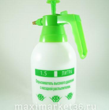 Распылитель-бачок ручной 1,5л + рем компл 00960 (Зелёная крышка)