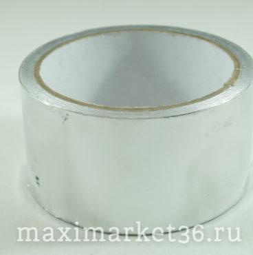 Скотч армированный -лента алюминиевая 50мм х10м 50мк Klebebander