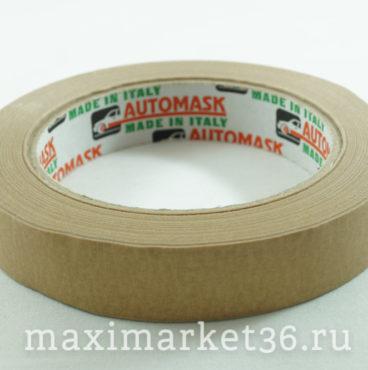 Скотч малярный Автомаск №19 (48) коричневый высокотемпературный