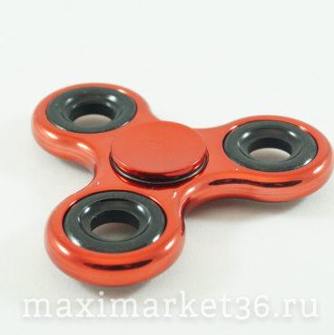 Спиннер-антистрессовая игрушка METALLIC (010сер-6346,011син-6353,012зол-6360,013роз-6377,27крас7046)