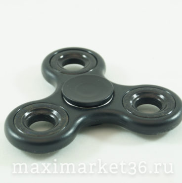 Спиннер-антистрессовая игрушка PLASTIC(014чёрн-6384,015син-6391,016бел-6407)