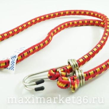 Стяжка для груза (резинки с крюками) 10мм х 1.1м (20,180)