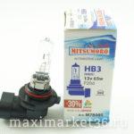 Автолампа HB3 (12-55) 12V Yamahato
