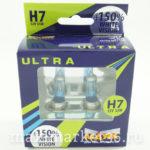 Автолампы H7 (12-55) S.White+150% PX26d МАЯК