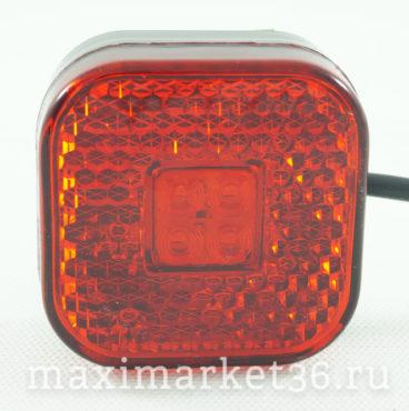 Фонарь маркерный универсальный 110.3731-02 КРАСНЫЙ DA-01770 71067