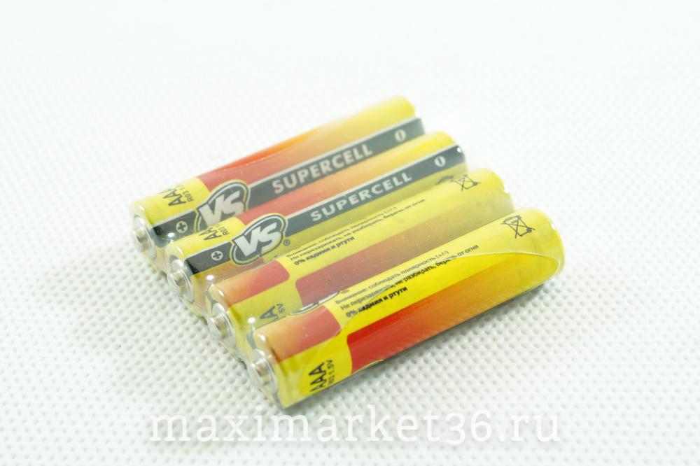 Батарейка SUPERCELL R03 мизинчик 4567