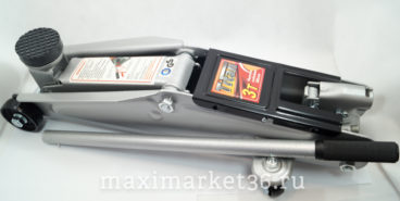 Домкрат гидравлический подкатной 3 т в чемодане с фиксатором (135-385мм) ТИТАН 35001