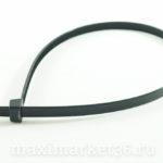 Хомут крепления проводов пласт 8х400 ( хомут ШРУСа большой.) чёрный М5 08400ч