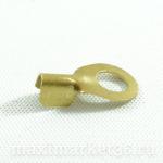 Клемма проводки (желт.) d = 12 мм (на сварку)