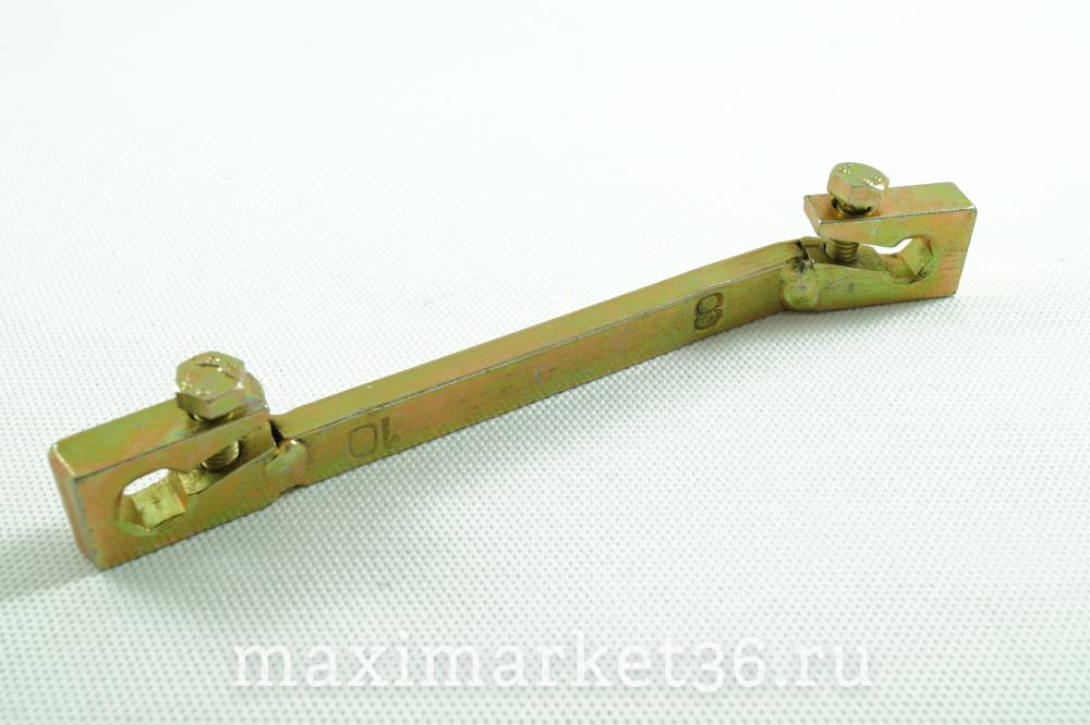 Ключ тормозной (прокачки) с 2-мя зажимами 8-10